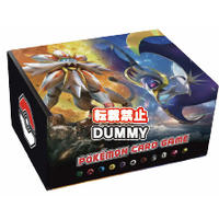 """Pokemon"" Card Game Sun & Moon Card Box With Energy Card Solgaleo & Lunala (Cards)"
