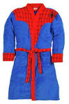 Spider-Man Inspired Marvel Fleece Robe (Adult One Size)