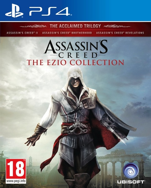Kết quả hình ảnh cho Assassin's Creed The Ezio Collection cover ps4