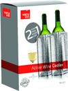 Vacu Vin - Active Cooler Wine Silver 2-for-1
