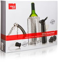 Vacu Vin - Wine Essentials Gift Set Black - Cover