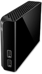Seagate - Backup Plus Hub 8TB Backup USB 3.0 External Hard Drive - Black