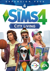 The Sims 4: City Living (PC/Mac) - Cover