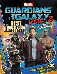 Marvel's Guardians of the Galaxy Sticker Book - Marvel (Paperback) - Cover