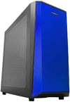 Raidmax Delta I Classic Styling Gaming Chassis - Black and Blue