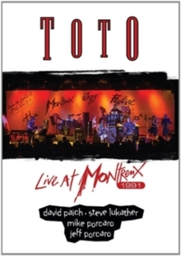 Toto - Live At Montreux 1991 (DVD) - Cover