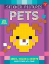Sticker & Color-by-number - Pixel Pets - Walter Foster Jr. Creative Team (Paperback)