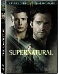 Supernatural - Season 11 (DVD) - Cover