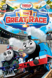 Thomas Amp Friends The Great Race Dvd Movies Amp Tv