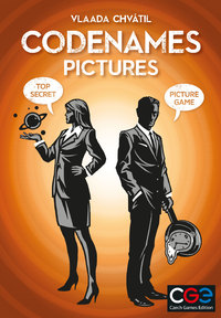 Codenames: Pictures (Card Game) - Cover