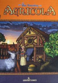 Agricola: Standard Edition (Board Game) - Cover
