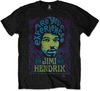 Jimi Hendrix - Experienced Mens Black T-Shirt (Large)