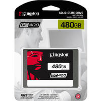 Kingston Technology - DC400 SSD 480GB Solid State Drive