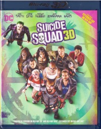 Suicide Squad (3D Theatrical Version & Extended Cut on 2D only) (3D Blu-ray) - Cover