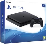 Sony PlayStation 4 Slim 1TB Console + Extra DS4 Controller (PS4) - Cover