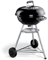 Weber - 47cm Compact Kettle BBQ Grill – Black