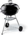 Weber - 57cm Compact Kettle BBQ Grill – Black
