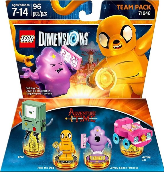 lego dimensions adventure time team pack for ps3 ps4. Black Bedroom Furniture Sets. Home Design Ideas