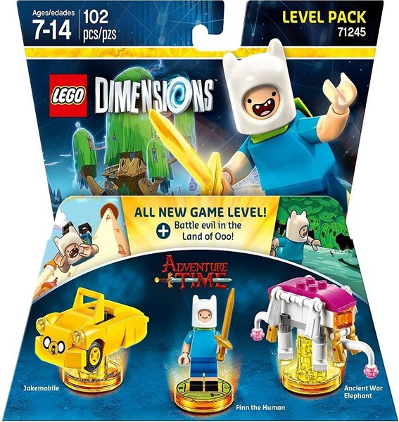 lego dimensions adventure time level pack for ps3 ps4. Black Bedroom Furniture Sets. Home Design Ideas