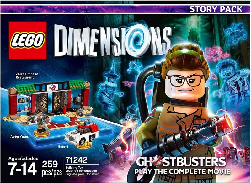 New Lego Games For Ps3 : Lego dimensions ghostbusters story pack for ps ps xbox
