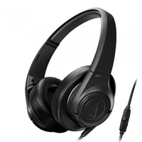 Audio-Technica Sonicfuel Headphones With Remote and Mic (Black) - Cover