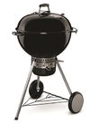Weber - 57cm Mastertouch with Gourmet BBQ System Grate & Tuck Away Lid – Black