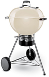 Weber - 57cm Mastertouch with Gourmet BBQ System Grate & Tuck Away Lid – Ivory