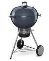 Weber - 57cm Mastertouch with Gourmet BBQ System Grate & Tuck Away Lid – Slate