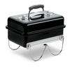 Weber - Go Anywhere Charcoal BBQ Grill - Black
