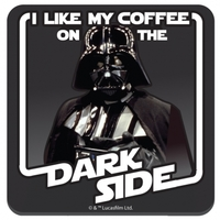 Star Wars - Coffee on the Dark Side Single Coaster - Cover
