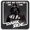 Star Wars - Coffee on the Dark Side Single Coaster
