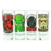 Star Wars – Quotes Set of 4 Shot Glasses - Cover