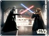 Star Wars – Darth Vader and Obi Wan Tin Sign (Metal Wall Sign A3) Cover