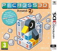 Picross 3D Round 2 (3DS) - Cover