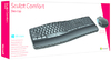 Microsoft - Sculpt Comfort Desktop Wireless Keyboard & Mouse