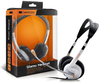 Canyon CNR-HS11NA Headset with Mic - Silver and White