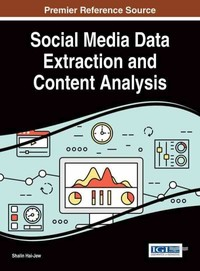 Social Media Data Extraction and Content Analysis - Shalin Hai-jew (Hardcover) - Cover