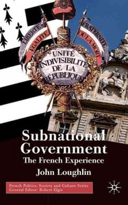 Subnational Government - John Loughlin (Hardcover) - Cover