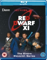 Red Dwarf XI (Blu-ray) - Cover