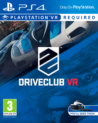 DriveClub VR (PS4 VR) - Cover