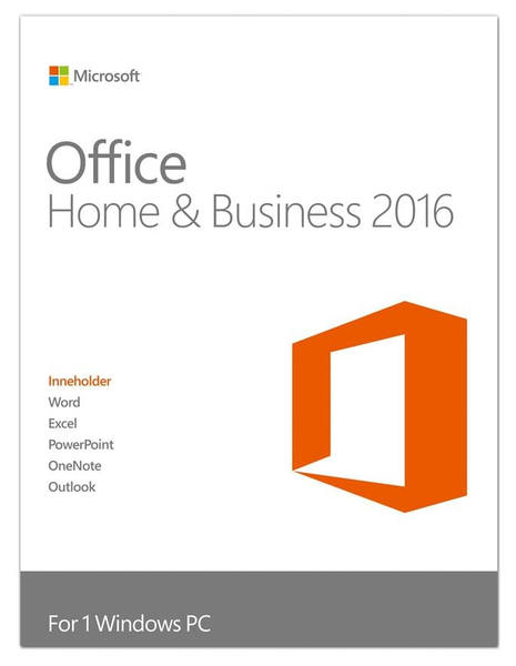 ms office 2016 home and business vs professional