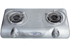 Totai - 2 Gas Burner Premium Hot Plate With Auto-Ignition Stainless Steel