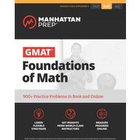 GMAT Foundations of Math - Manhattan Prep (Paperback)