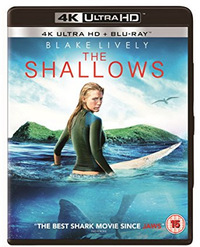 The Shallows (4K Ultra HD + Blu-ray) - Cover