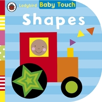Baby Touch: Shapes (Board book) - Cover