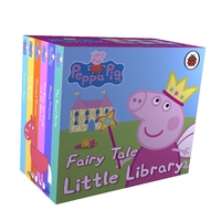 Peppa Pig: Fairy Tale Little Library (Board book) - Cover