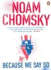 Because We Say So - Noam Chomsky (Paperback)