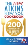 New Atkins New You Cookbook - Colette Heimowitz (Paperback)