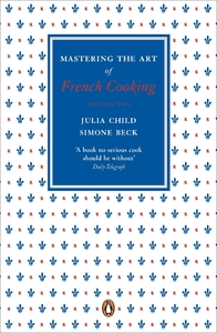 Mastering the Art of French Cooking, Vol.2 - Julia Child (Paperback) - Cover