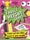 Lonely Planet Family Height Chart - Lonely Planet Kids (Paperback)